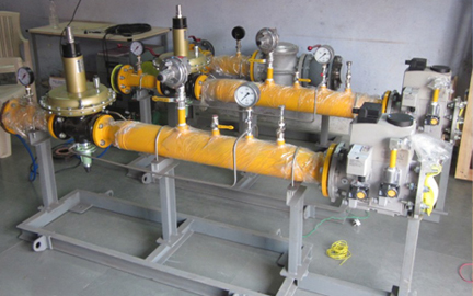 Gas Pressure Regulator And Gas Trains